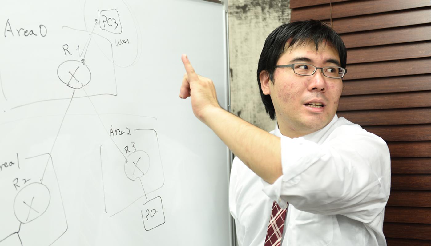 株式会OZsoft ネットワークソリューション事業部 課長 松井 泰宜 / 伊藤 領汰