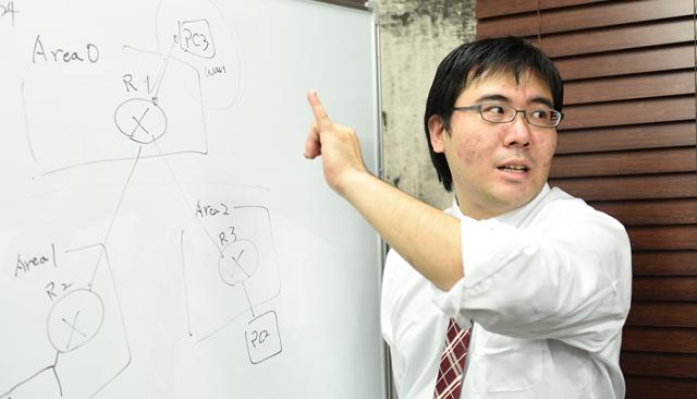 株式会OZsoft System Architect Div リーダー 松井 泰宜 / ネットワークソリューション事業部 石川 文平