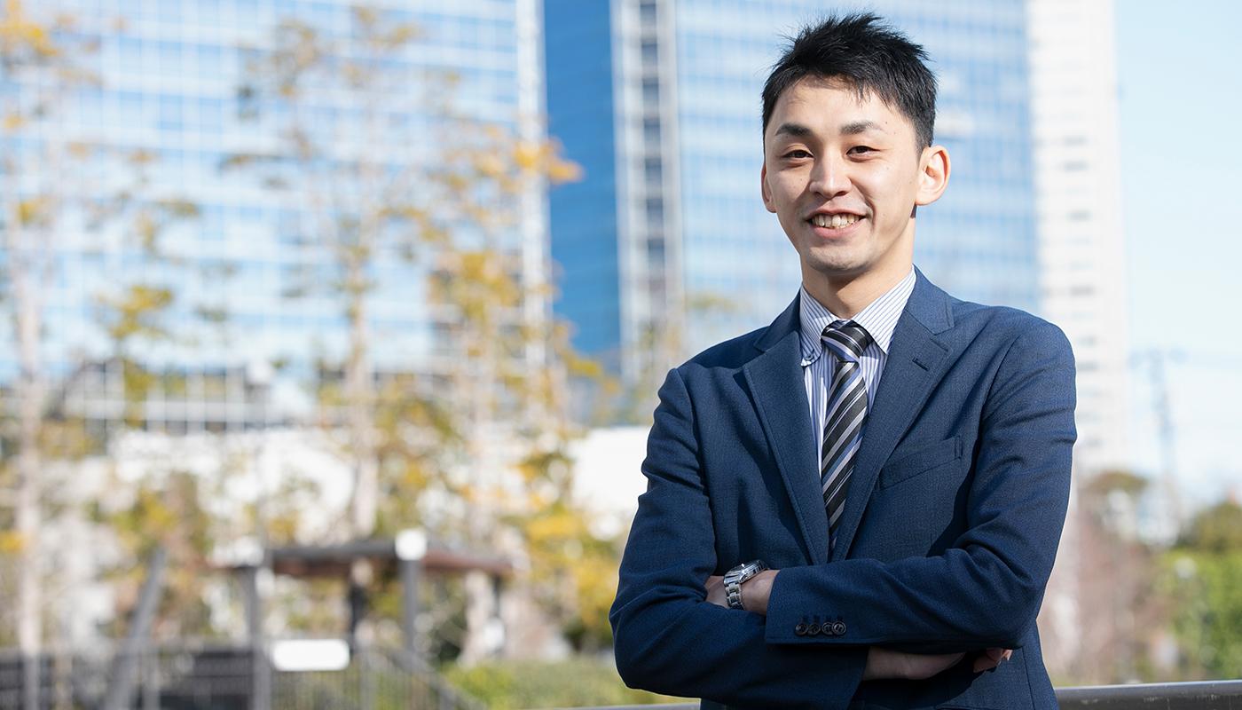 日新商事株式会社 機能商品部 産業資材グループ 主任 島崎 勇人