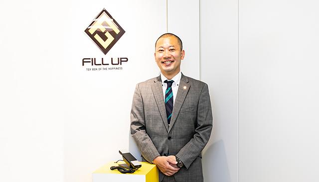 株式会社FILL UP(フィルアップ) 代表取締役社長 山口 大介