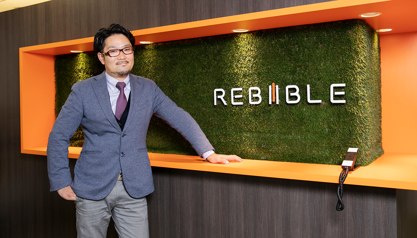 株式会社リバイブル 代表取締役社長 尾形 優