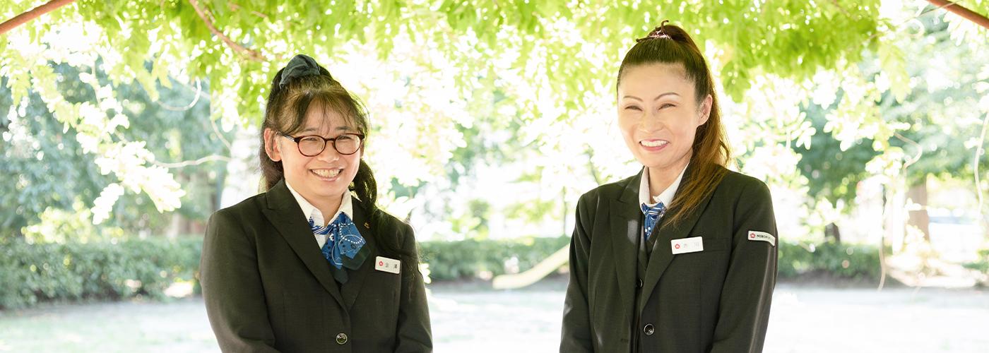日本交通立川株式会社 ドライバー 金澤 由美子 / 赤川 みか