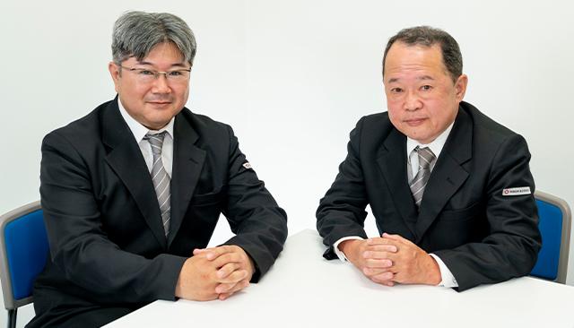 日本交通横浜株式会社 川崎営業所  ドライバー 塙 一正 / 飛田 篤男
