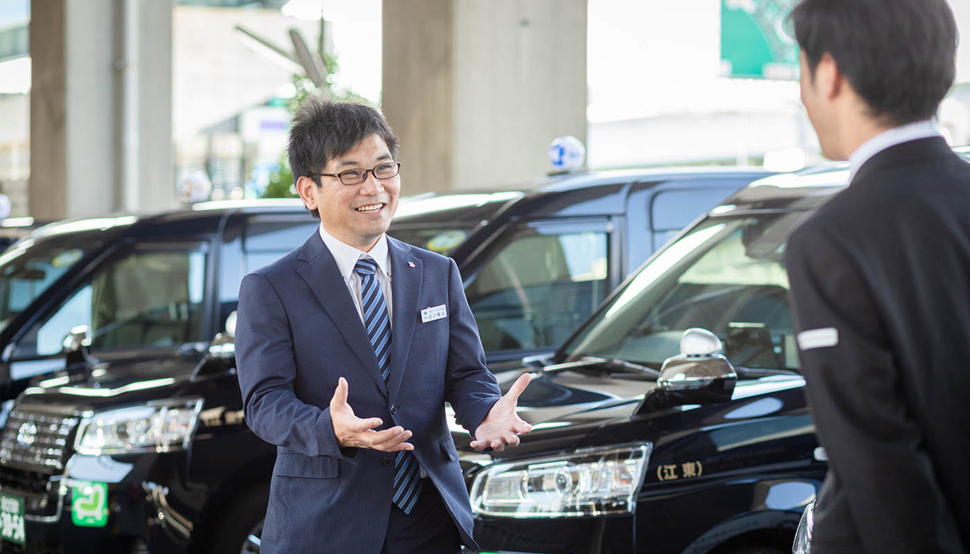 ——よくわかりました。充実した新人教育以外に、ワイエム交通のドライバーさんが稼げる要因はありますか。