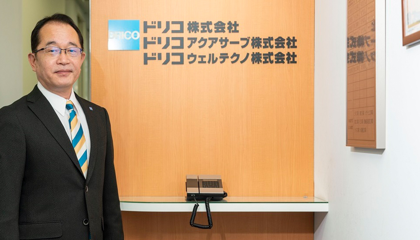 ドリコ株式会社 代表取締役社長 鮫島 修